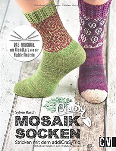 Crasy Mosaik Socken