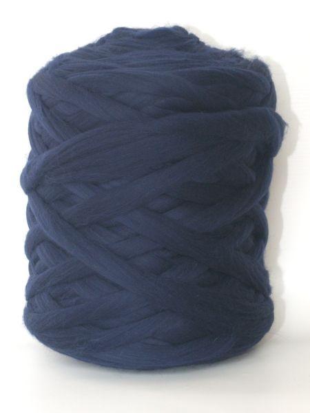 Polnische Merino Nachtblau