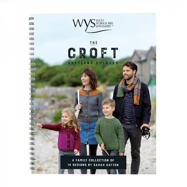 The Croft Shetland Colours - Pattern Book