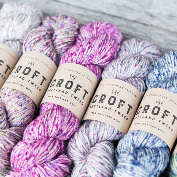 The Croft Shetland Tweed ARAN