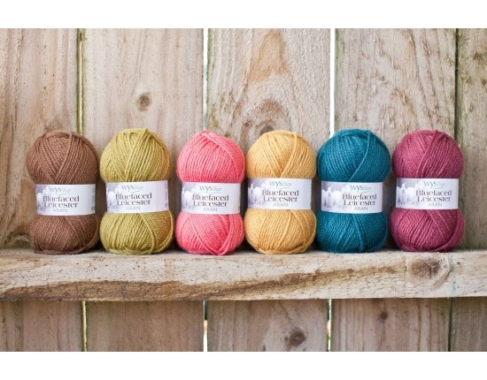Bluefaced Leicester DK Autumn Collection