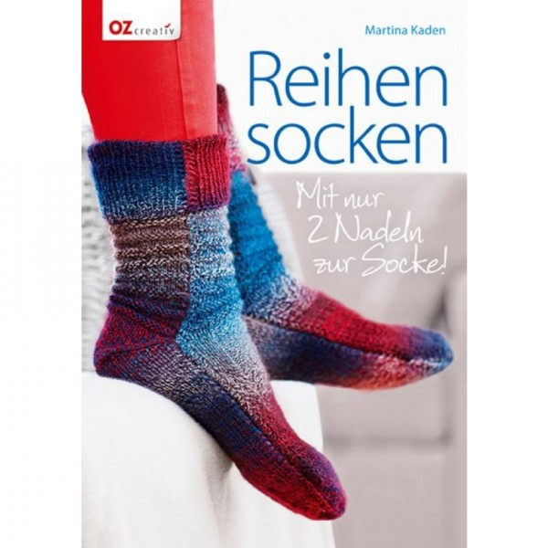 Reihensocken: Mit nur 2 Nadeln zur Socke!