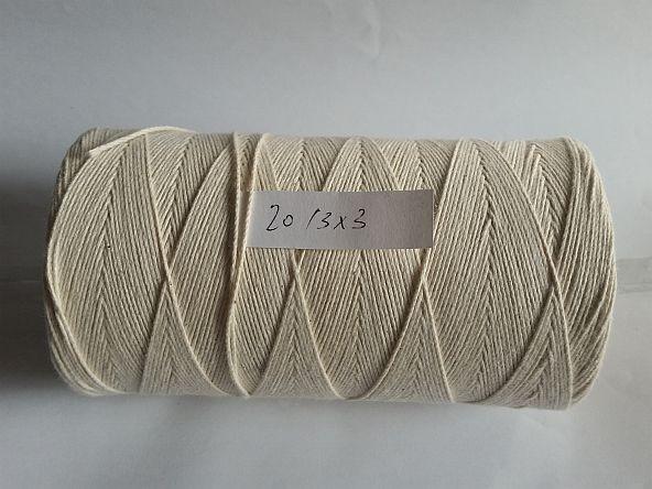 Baumwoll Cordonett 20/3x3