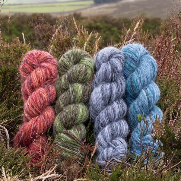 The Croft Wild Shetland Aran Roving
