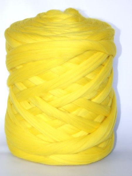 Polnische Merino Neon Gelb