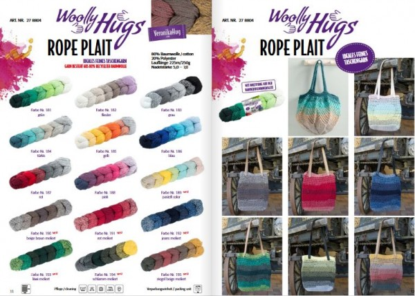 Woolly Hugs Rope Plait