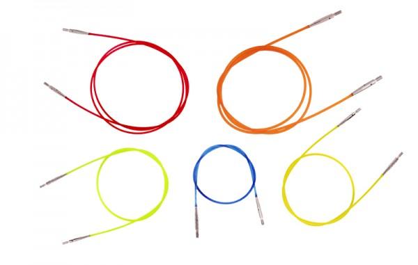 Seil für austauschbare Nadelspitzen bunt