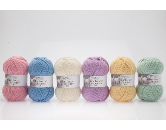 Bluefaced Leicester DK Pastel Collection