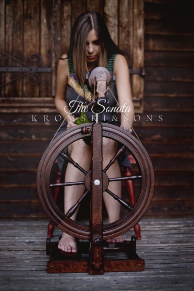 Kromski Sonata Spinnrad