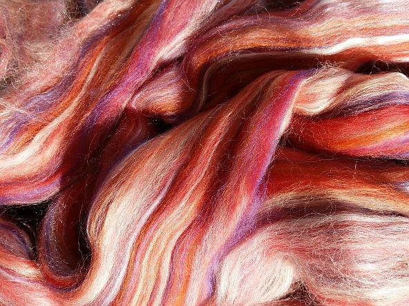 Merino Multicolor mit Seide Agatha