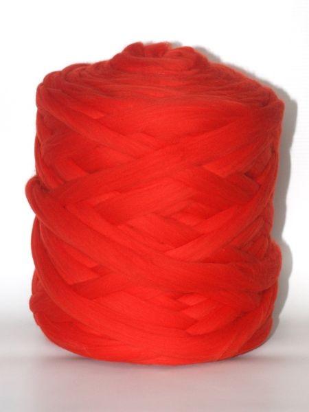 Polnische Merino Erdbeer Rot