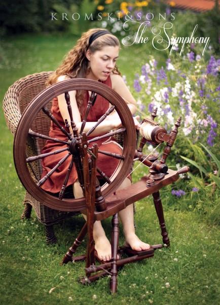 Kromski Symphonie Spinnrad